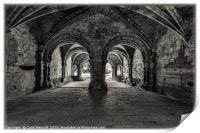 The Chapter House, Print