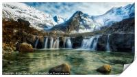 Fairy Pools,Isle of Skye, Print
