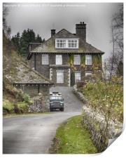 The Haweswater Hotel, Cumbria, Print
