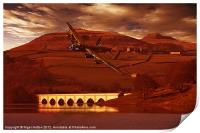 Into Ladybower, Print