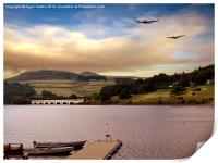 Two Over Ladybower, Print