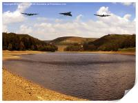 Three Over Howden, Print