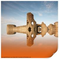 Reflections of the past, Print