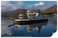 Corran Ferry and Lighthouse, Print