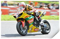 Tommy Hill at Cadwell Park 2011, Print