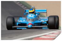 Osella FA1-D-3 Driven by Terry Sayles, Print