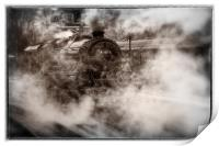 44871 Steam Locomotive, Print