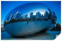 Cloud Gate, Print