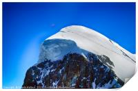 Paragliding at the Mtterhorn, Print