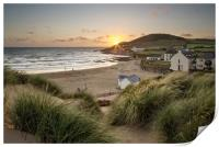 Croyde Bay North Devon., Print