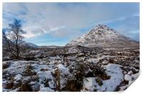 Buachaille Etive Mor in Winter, Print