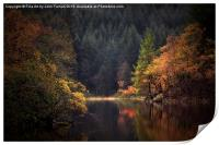 Loch Ard in Autumn, Print