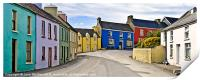 Eyeries Village, West Cork, Ireland, Print