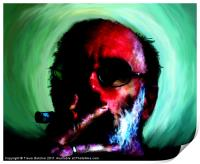 The Artist and the Amazing Cigar, Print