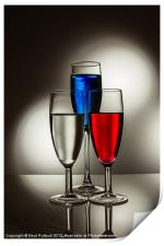 Red, White and Blue, Print