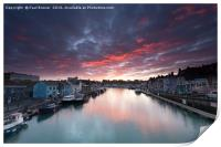 Weymouth at Sunrise, Print
