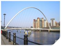 Newcastle Quayside in the Sun!, Print