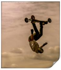 Mountainboarder, Print