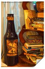 Bottle and Books, Print