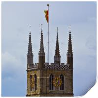 Southwark Cathedral, Print