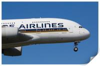 Singapore Airlines Airbus A380, Print