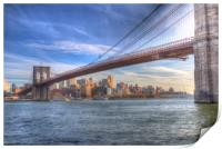 Brooklyn Bridge New York, Print