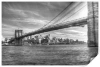 Brooklyn Bridge , Print
