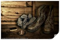 OLD BOOTS, Print