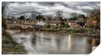 A VIEW TO AYLESFORD, Print