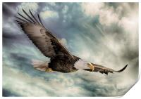 The Flight of an Eagle, Print