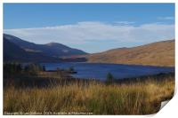 Loch Dee, Dumfries and Galloway, Print