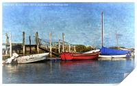 The Moorings, Print