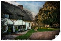 Sulhamstead Abbots Cottages, Print
