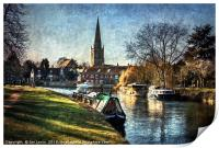 Abingdon on Thames, Print
