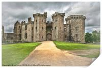 Gateway To The Castle, Print