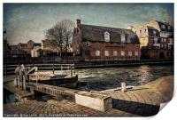 The Old Brewery Stables, Print