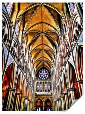 truro cathedral, Print