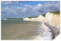 Seven Sisters From Birling Gap  , Print