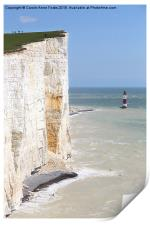 Seven Sisters From The Top Of The Cliffs, Print