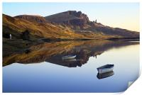 Storr Reflected, Print