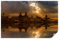 Liverpool morning, Print