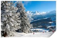 Courchevel 1850 3 Valleys Alps France, Print