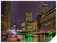 Canary Wharf - London - 3, Print