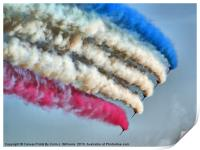 Cookin On Gas !! - The Red Arrows - Duxford 26.05., Print