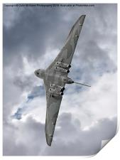 Pulling G - Vulcan - Valedation Display , Print