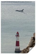 Vulcan XH558 Beachy Head, Print