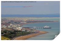 Red Arrows Eastbourne 4, Print