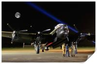 Just Jane A Bombers Moon, Print