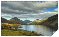 Wastwater In October, Print