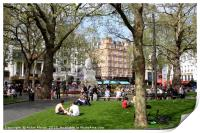 Leicester Square, London , Print